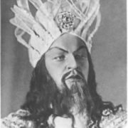 A.I. Alexeyev as an Indian guest. Sadko. Bolshoi Theater, 1935