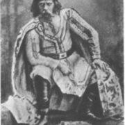 F.I. Stravinsky as Prince Mstivoi. Opera-ballet Mlada. The Mariinsky Theater, 1892
