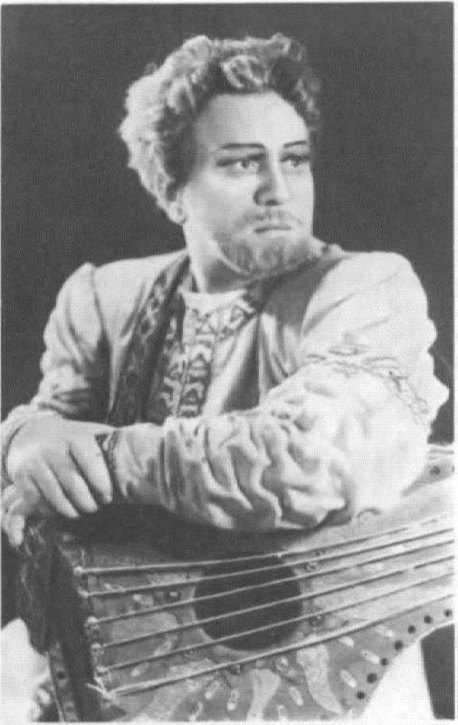 G.M. Nelepp in the role of Sadko. Bolshoi Theater, 1949