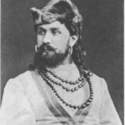 I.P. Pryanishnikov in the role of Mizgir. Mariinsky Theater, 1882. The first production of The Snow Maiden