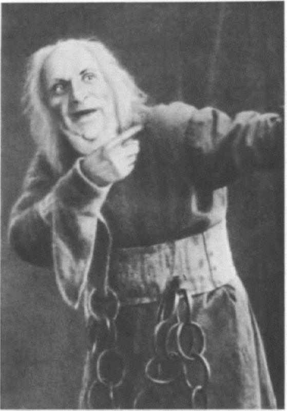 I.V. Ershov in the role of Kashchei. Petrograd, 1918