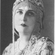 K.G. Derzhinskaya in the role of Vera Shelga. Bolshoy Theater, 1920