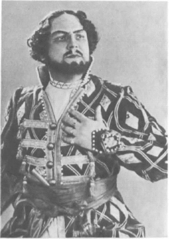 M.S. Grishko in the role of Grigory Gryazny. The Tsar's Bride