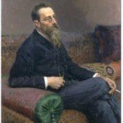 Portrait of Nikolai Rimsky-Korsakov by Ilya Repin