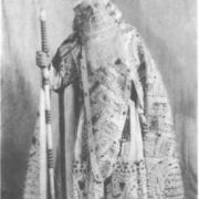 S. Ya. Lemeshev in the role of Tsar Berendey. The Snow Maiden. The Bolshoi Theatre