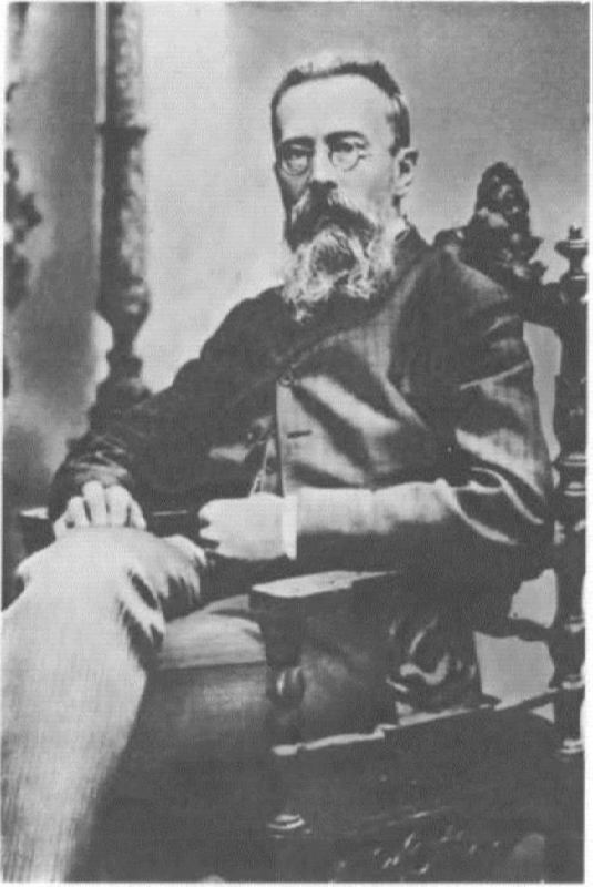 Talented N.A. Rimsky-Korsakov, 1890s