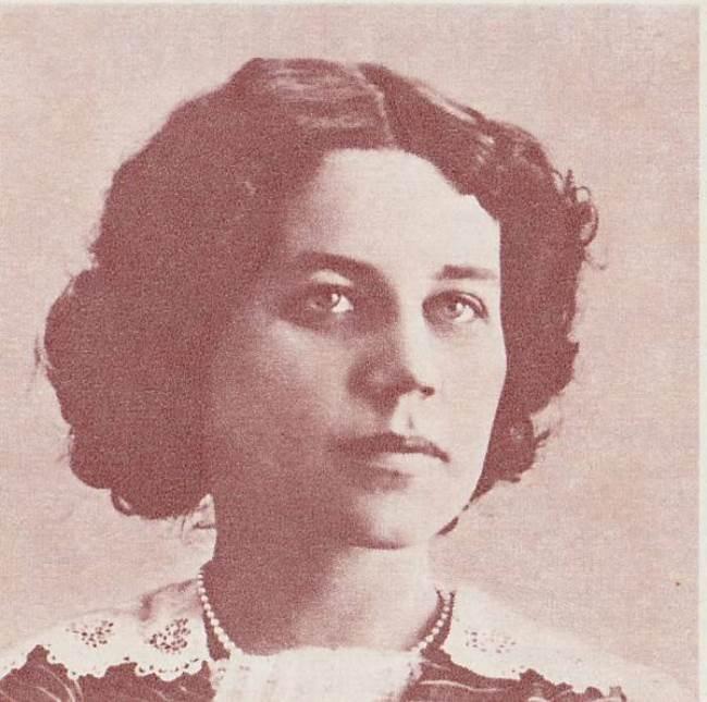 Tatyana Nikolaevna Lappa, the first wife of Bulgakov