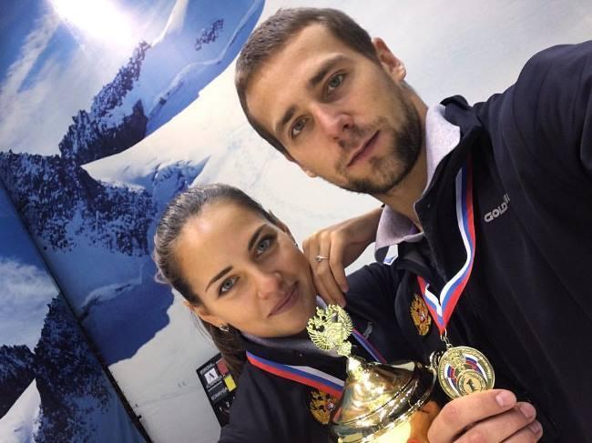 Nastya and Sasha - Olympic medalists