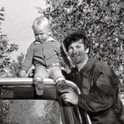 Belyavsky with his son Boris