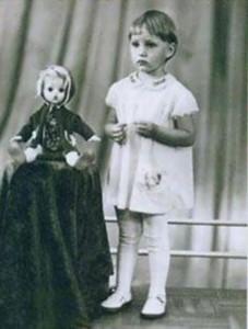 Alla Dovlatova childhood