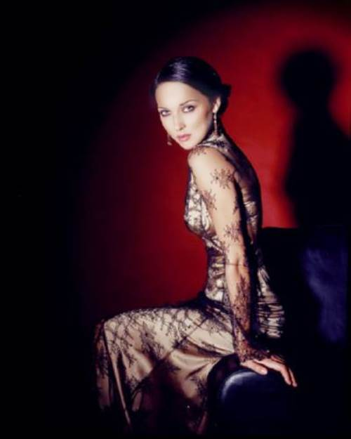 beautiful Russian singer