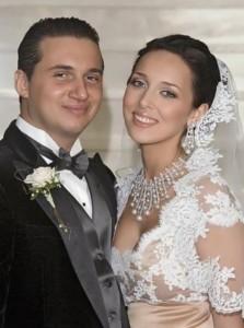 with her husband Yan Abramov