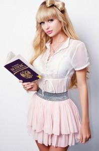 Russian Barbie girl from Moscow - Anzhelika Kenova