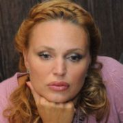 Attractive actress Dovlatova Alla