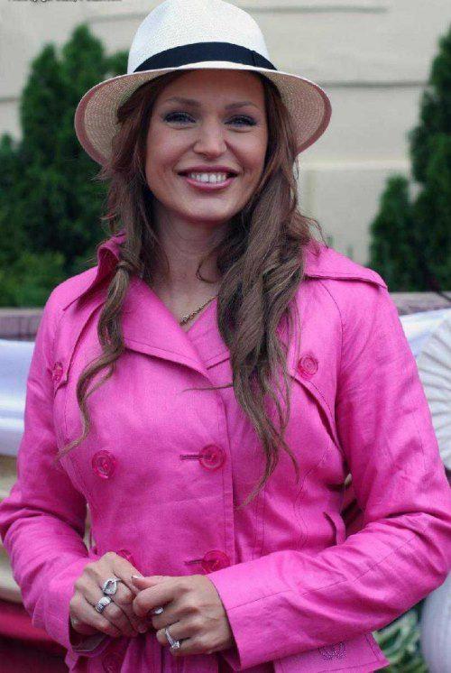 Brilliant TV presenter Dovlatova Alla