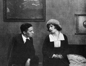 Charlie Chaplin and Alla Nazimova