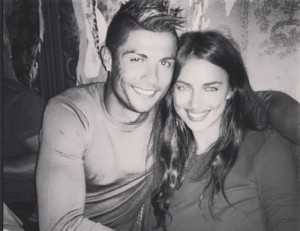 Ronaldo and his Superwoman