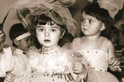 Cute Koroleva in her childhood