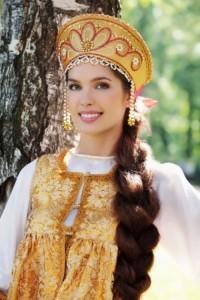Elizaveta Golovanova long-haired Russian beauty