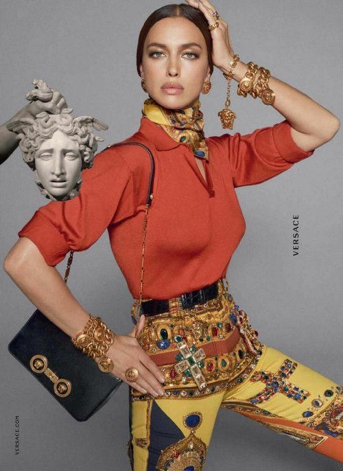 Glamorous model Shayk Irina