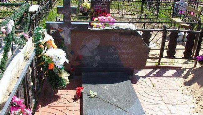 Grave of Anna Loginova