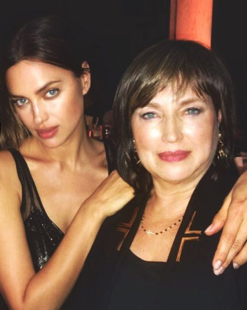 Irina shayk and her mother