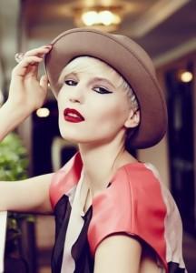 Lesovaya Maria beautiful Russian model