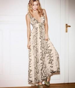 Pretty international model Maria Novoselova