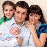 Nonna Grishaeva family