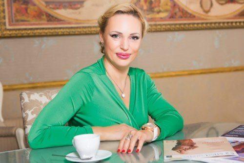 Original TV presenter Dovlatova Alla
