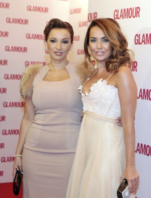 Zhanna Friske and Anfisa Chekhova