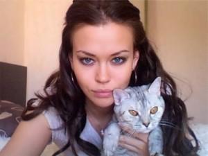Irina with her sister Tatiana