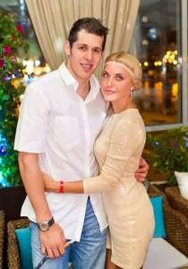 Evgeni Malkin and Oksana Kondakova