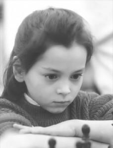 Aleksandra Kosteniuk childhood