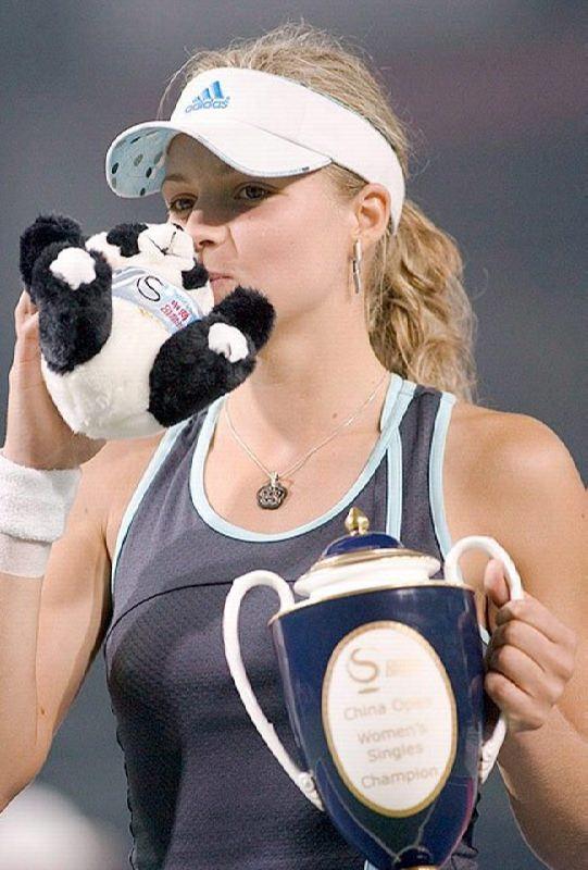Amazing tennis player Kirilenko Maria