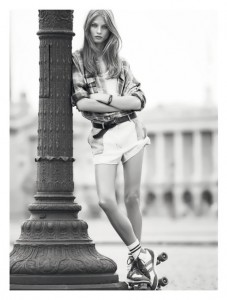 Anna Selezneva fashion model