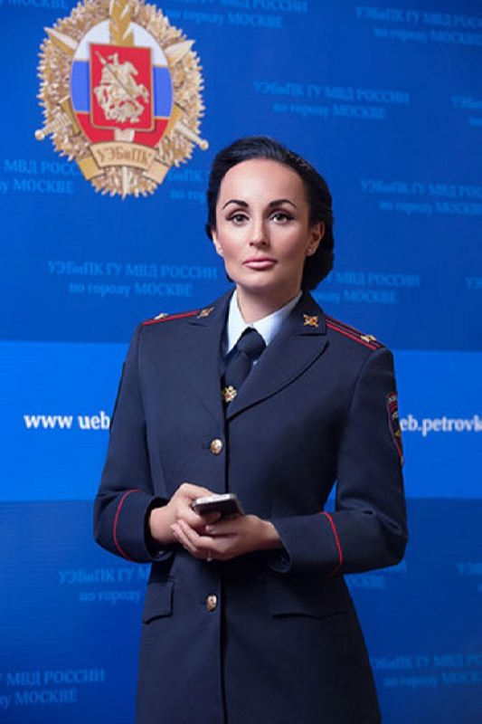 Astonishing police woman Volk Irina