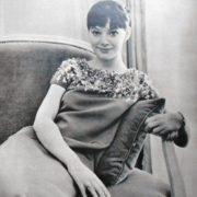 Attractive actress Lyudmila Savelyeva