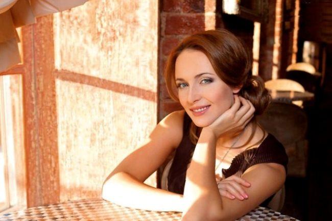 Bright actress Snatkina Anna