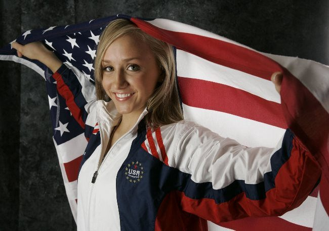 Bright gymnast Anastasia Liukin