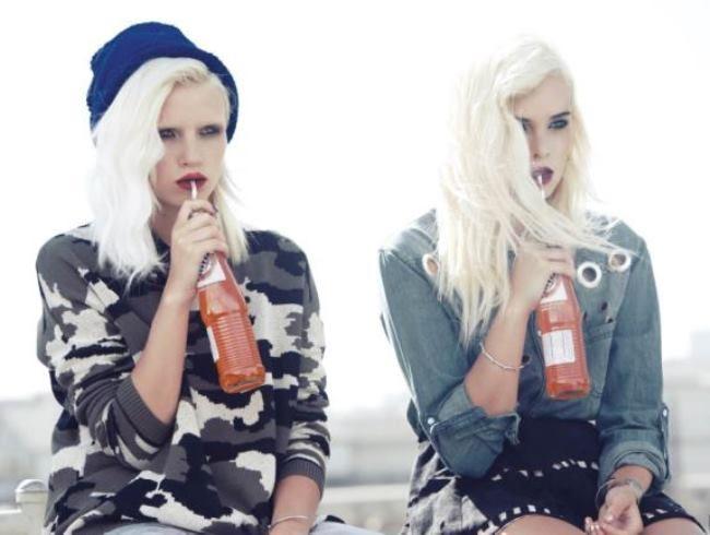 Brilliant model Anja Konstantinova