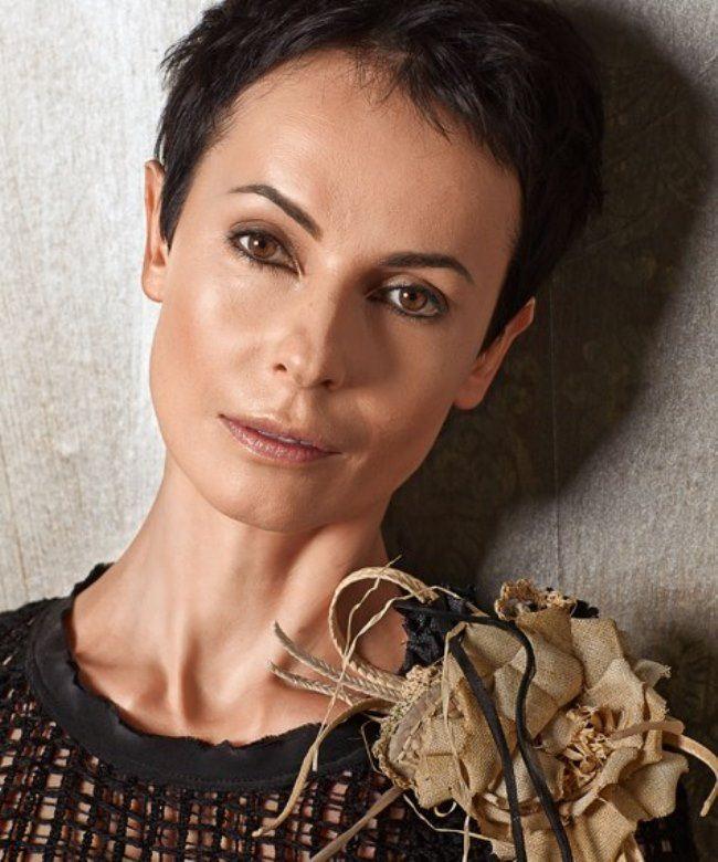 Charming actress Apeksimova Irina