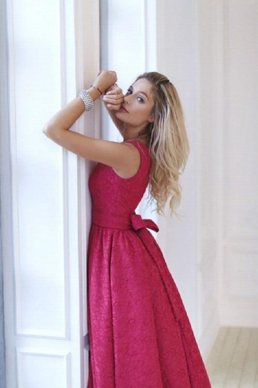 Charming actress Natasha Rudova