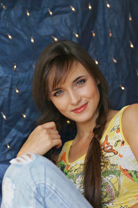 Charming actress Snatkina Anna