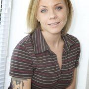 Charming singer Elena Perova