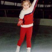 Cute Sasha Savelieva in her childhood