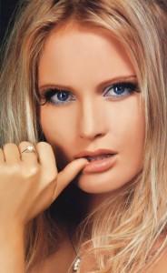 Beautiful blonde Dana Borisova