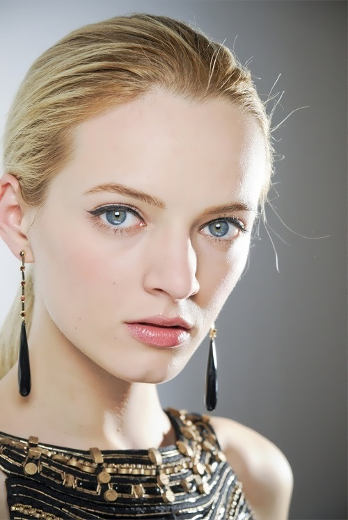 Daria Strokous fashion model