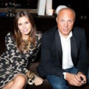 Daria Zhukova and her father