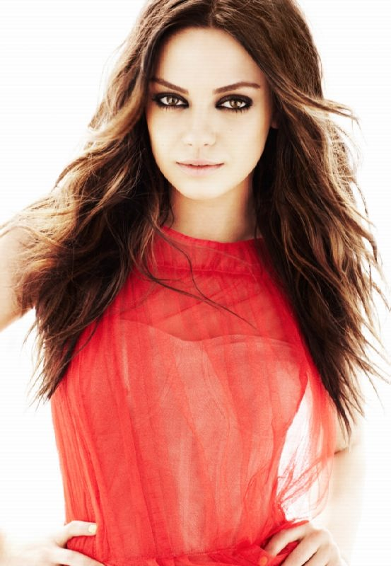 Fabulous actress Kunis Mila